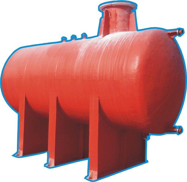GRP Chemical and Disel Tanks in UAE - AL Madina Fiberglass 1