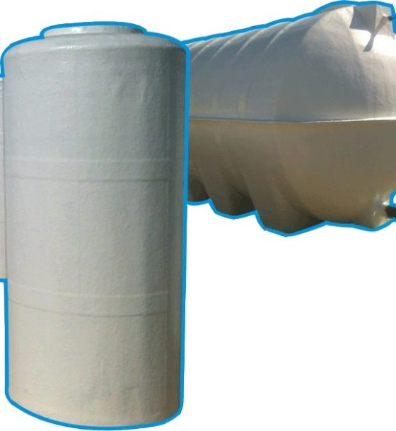 GRP Cylindrical Water Tank