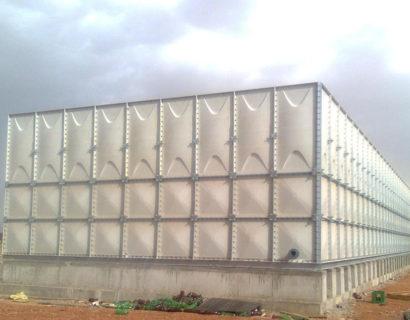 4 Meter Height GRP Panel Water Tank