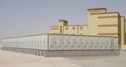 2 meter height GRP Panel water tank