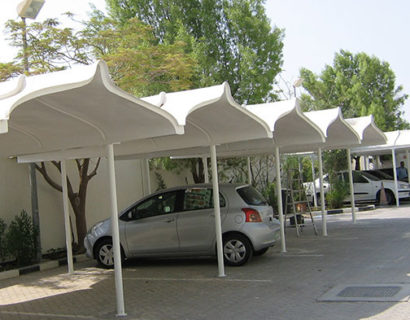 GRP ISLAMIC CAR SHED